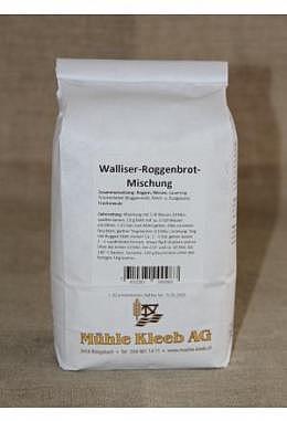 Walliser-Roggenbrot-Mischung