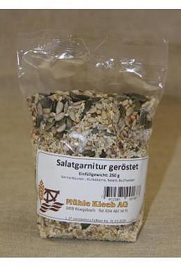 Salatgarnitur geröstet